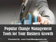 Popular Change Management Tools for Your Business Growth