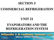 Unit 21 Evaporators