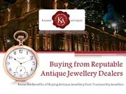 How To Spot The Best Dealers When Buying Antique Jewellery