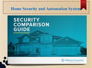 home security and automation system