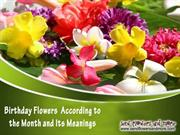 Choose Flowers by Birthday Month and Send Flowers Online