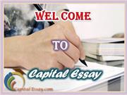 Capital Essay - Professional Academic Custom Writing Services Provider
