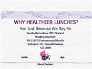 improving school lunch programs
