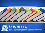 Brindavan college offering best courses with 100% placement