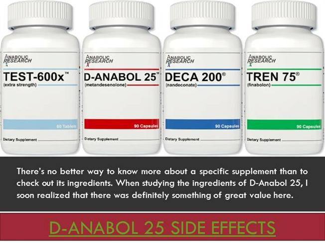 D-Anabol 25 Side Effects |authorSTREAM