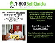 1-800 Sell Quick Buys Houses in Fort Lauderdale in Any Condition