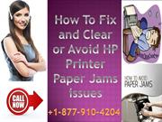 How to Fix and Avoid Printer Paper Jams Issues?