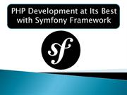 PHP Development at Its Best with Symfony Framework