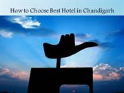 Hotels near railway station in Chandigarh