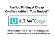 Cordless Kettles - Get The Price Of Cheap!