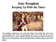 Amy Koughan Keeping Up With the Times