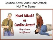 Cardiac Arrest And Heart Attack - Not The Same