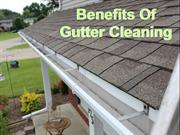 Benefits Of Gutter Cleaning