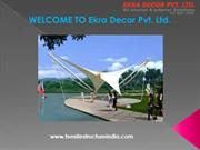 Tensile Structure India | Tensile structure