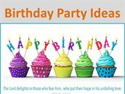 Birthday Party Ideas - http://www.cardsbymellc.com/company-info/