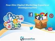 Now Hire Digital Marketing Experts at Developers2Hire