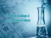 The 5 Biggest Challenges of Specialty Chemicals Industry