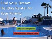 Holiday Rental for Your Family