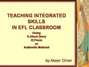 EFL Workshop presentation