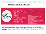 International Recruitment Services