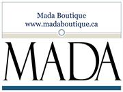 Mada Boutique - PPT