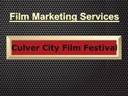 Culver City Film Festival - Film Marketing Services