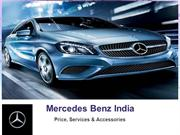Mercedes Benz India - Price, Services & Accessories