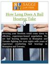 How Long Does A Bail Hearing Take