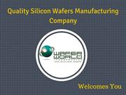 Quality Silicon Wafers Manufacturing Company in West Palm Beach