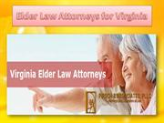 Elder Law Attorneys for Virginia