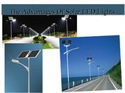 The Advantages Of Solar LED Lights