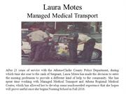Laura Motes - Managed Medical Transport