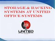 Storage & Racking Systems at United Office Systems