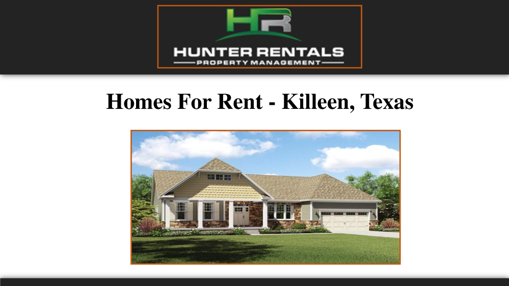 Homes for rent killeen texas authorstream for Home builders in killeen tx