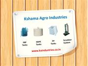FRP Tanks Manufacturer, HDPE Tanks, PP Tanks in Gujarat, INDIA