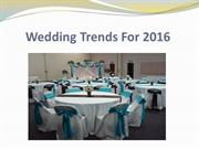 Wedding Trends For 2016