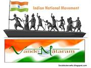 National Movement in India