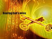 Hearing God's Voice Part 1