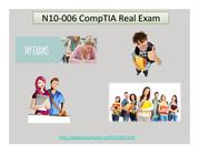 CompTIA Certification Exams N10-006
