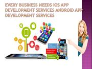 Topest IOS App Development services Android App Development Services