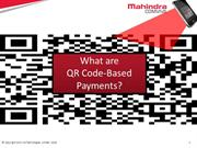QR Code Based Payment- The most advanced contactless payment