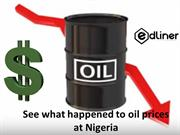 See what happened to oil prices at Nigeria