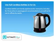 Amazon Basics To Get Electric Kettle And Cordless Kettles!