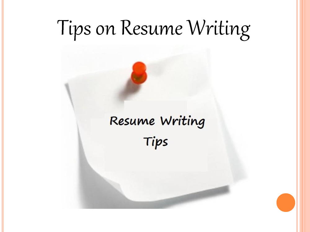 william almonte tips on resume writing authorstream