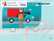 One off Delivery Solutions as a Cost-Effective Courier