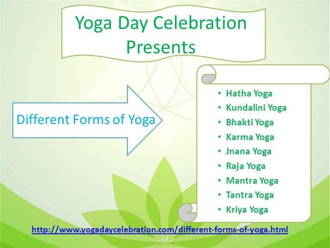Different Forms of Yoga on Yogadaycelebration Com |authorSTREAM