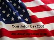 JWIS Constitution Day 2008