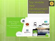 Top Mobile App Development Frameworks