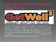 The Impact Of Hormones On Weight Loss