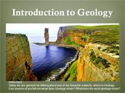 Geology WITH AUDIO